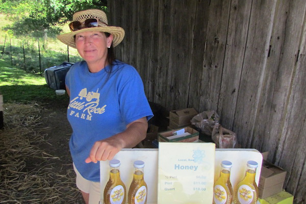 Little Rock Farm in Camp Springs offers local honey