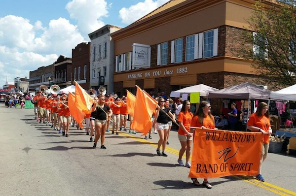 Derby Day parade in Williamstown