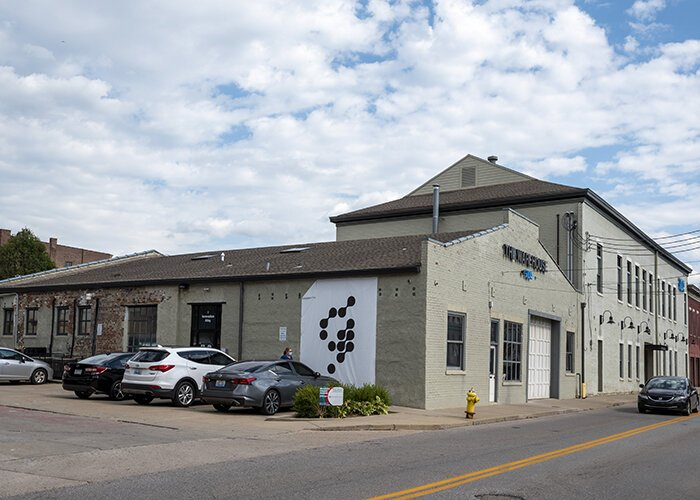 The Warehouse, once a 19th century dance hall, is part of the Innovation Alley district.