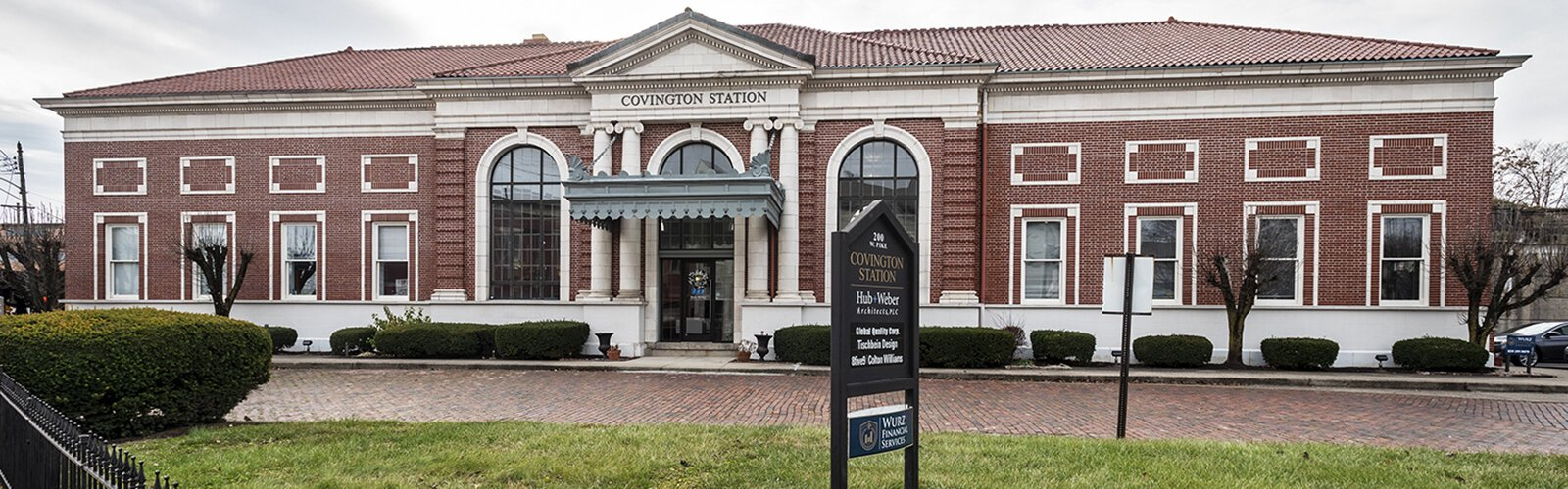Covington Station once served as the city's main stop for passenger rail service and had separate entrances for white and black travelers.