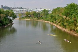 The Licking River drains 3,600 square miles of Kentucky.