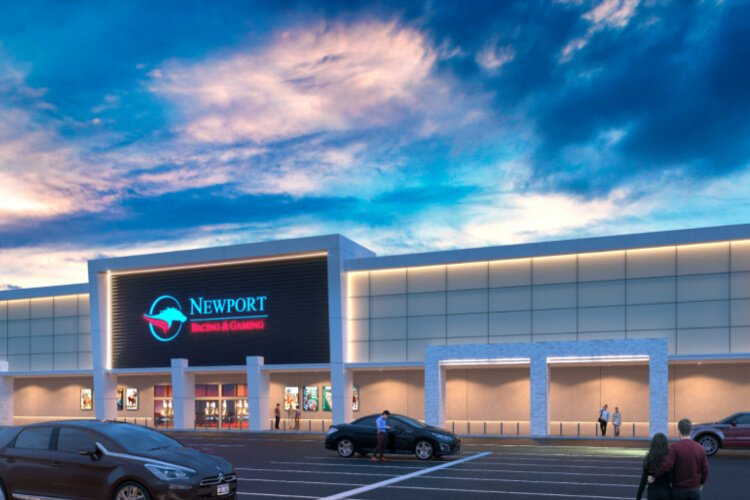 The new gaming facility will be located in the Newport Shopping Center.