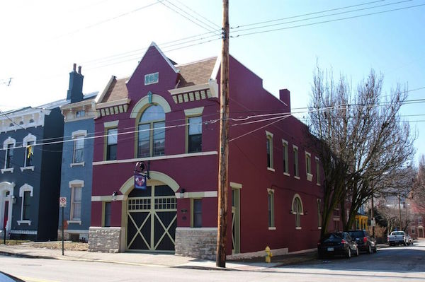 Covington's outside-the-box renovations include a repurposed historic firehouse