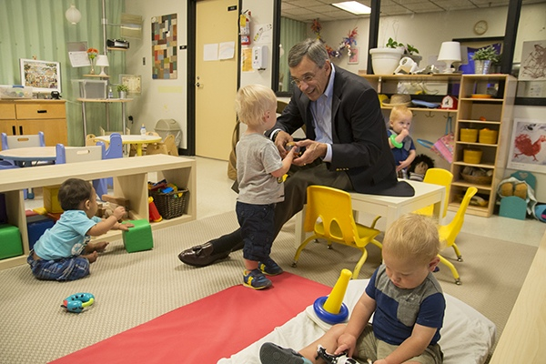 "Jim Votruba says investing in Northern Kentucky early childhood education is ""profoundly worthwhile"""