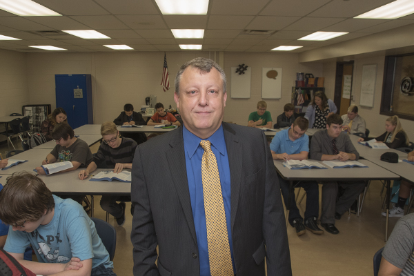 "Dr. Francis O'Hara, Director of the Kenton County Academies of Innovation and Technology, is described as ""a pioneer in the field of career and technical education"""