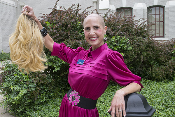 Wig-Out's mission is to help people feel confident with or without hair