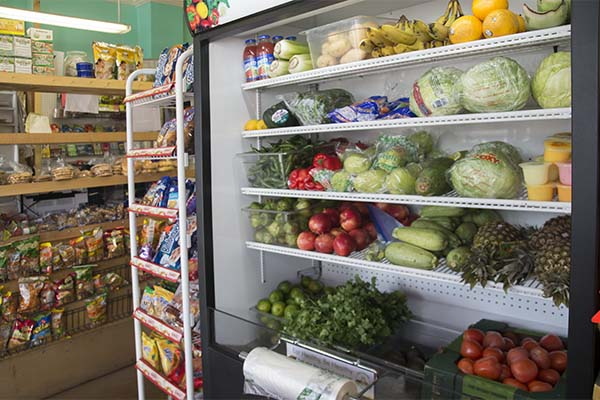 Independent grocers like Gutierrez Deli in Covington are carrying more fresh produce