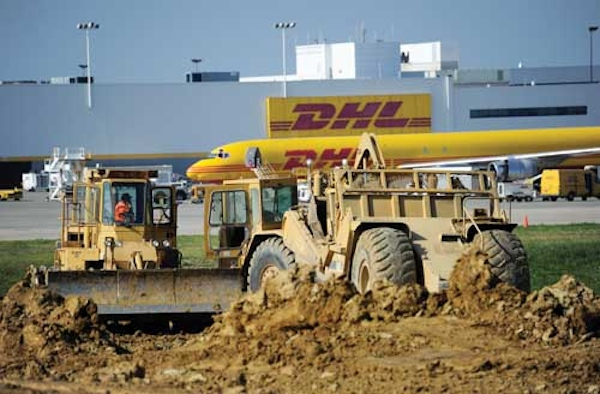 DHL expects to complete its $100-million expansion by year-end 2016