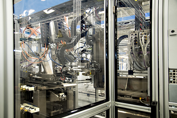 NKY students got a chance to see inside the Robert Bosch Automotive plant Oct. 14