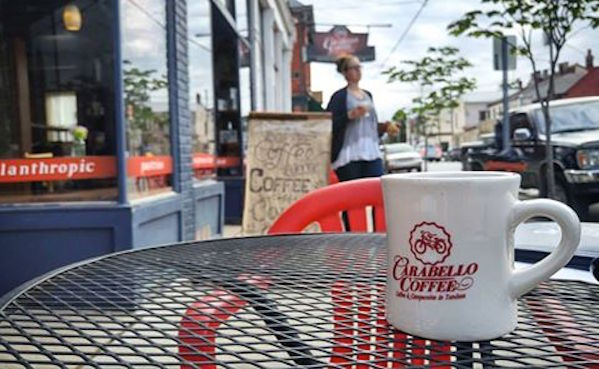 Carabello Coffee has quickly become a neighborhood gathering center and hub for community-improvement efforts
