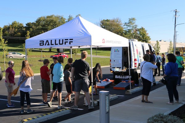 Balluff Inc. welcomes area students to its Florence manufacturing site