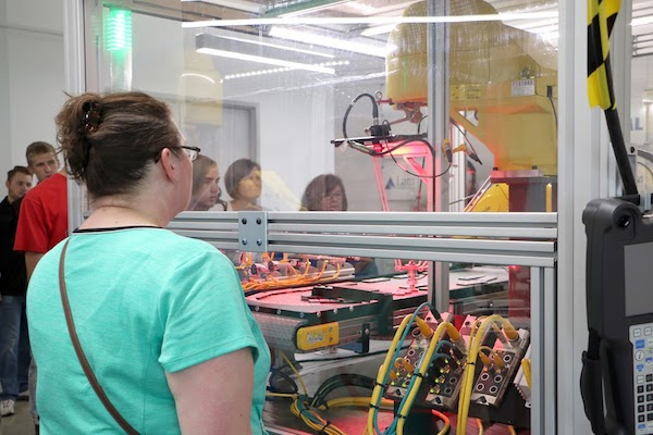 Manufacturing Preview Day events gave female students in particular an up-close look at prospective careers.