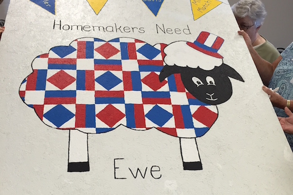 Several Pendleton County organizations will contribute sheep-inspired artwork.