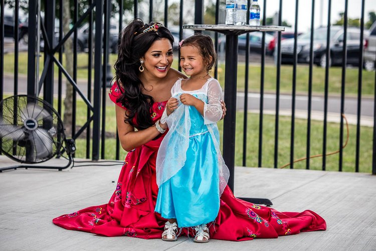 The family-friendly emphasis for the Freedom includes promotions like Princess Night.