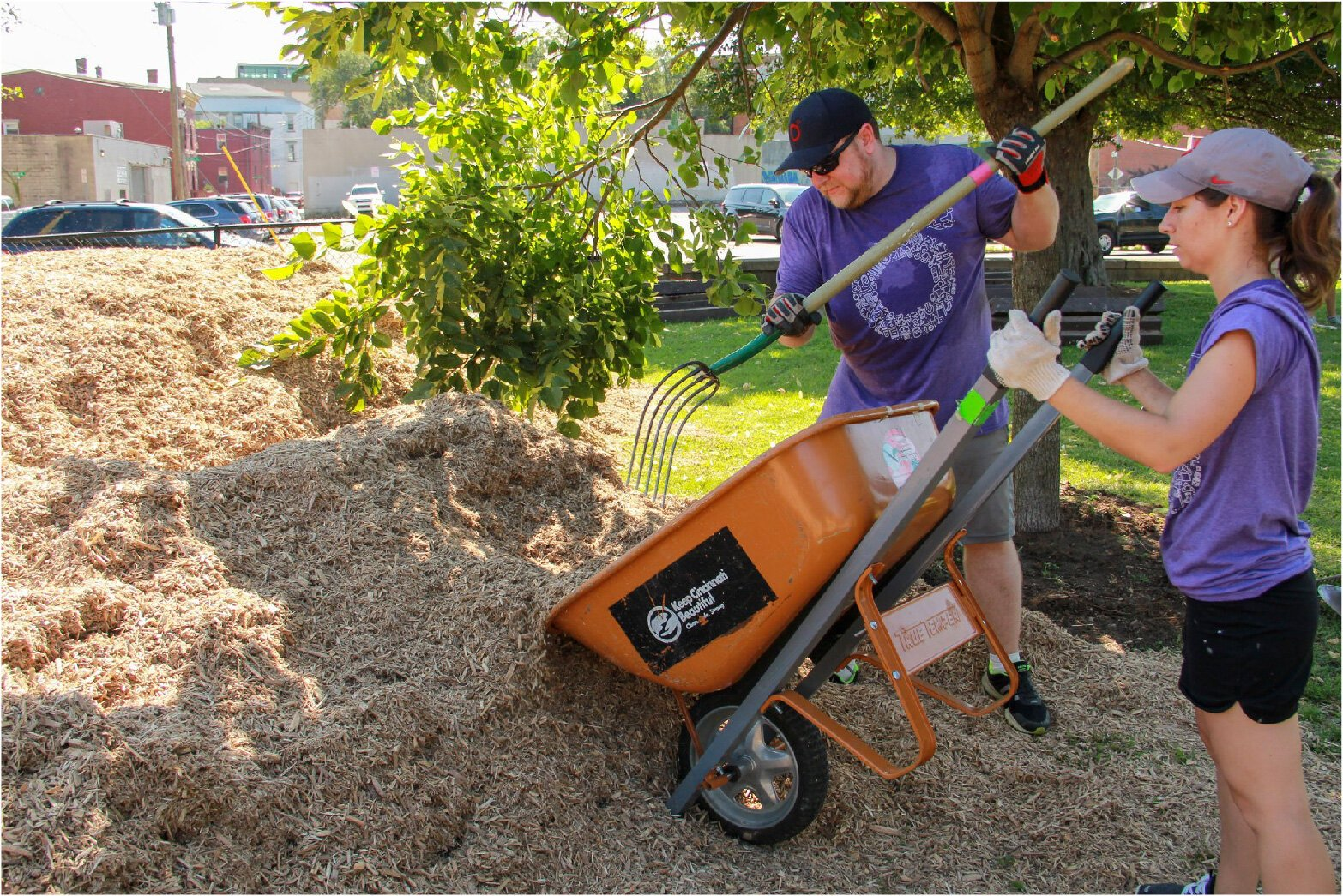 Projects came to a halt when Keep Cincinnati Beautiful had to cancel all spring events.
