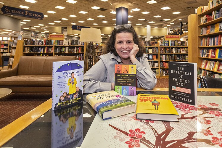Audrey Bullar has been a bookseller for 20 years and always has a list of favorites.
