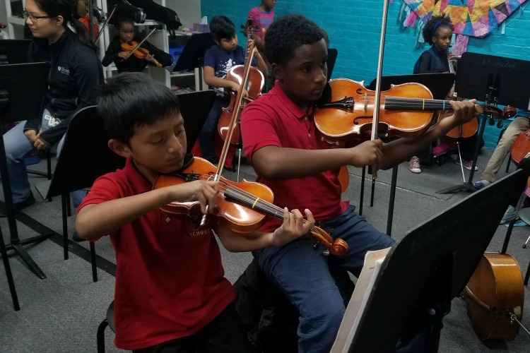 MYCincinnati youth orchestra in Price Hill