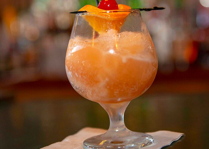The bourbon slush is a spin on a Kentucky favorite.