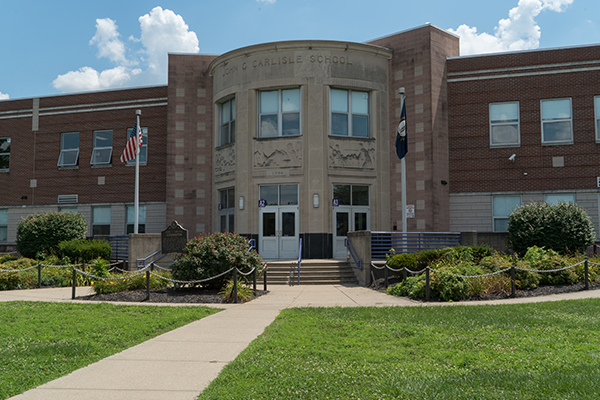 John G. Carlisle Elementary in Covington is attended primarily by students from low-income families.