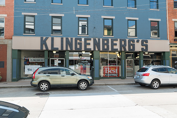Klingenberg's Hardware on Pike Street is one of Covington's longest operating businesses.