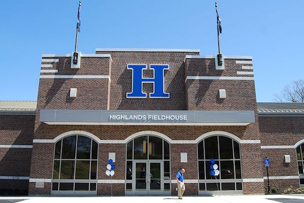 Highlands High School in Fort Thomas ranked No. 2 in KY