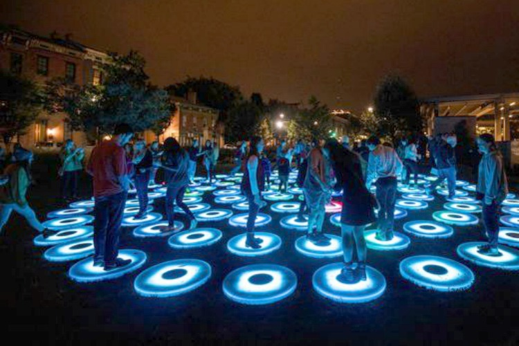 Interactive art was a big draw at last year's festival.